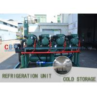 China Full Automatic System Cold Storage Refrigerator / R22 R404a R134 Modular Cold Rooms on sale