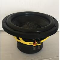 Loudest 10 Inch 1000 Watt Subwoofer , Dual 4 Ohm Car Speakers Good Sound