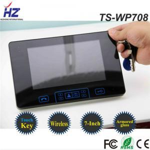 China adjustable Brightness and talk volume video door phone Wireless unlock control on sale