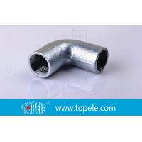 Buy cheap BS4568 Conduit Fittings 25mm  Malleable Iron Solid Elbow , 90 Degree Pipe Bent from wholesalers