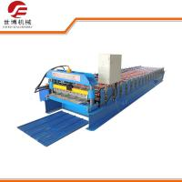 Wholesale Corrugated Sheet Roll Forming Machine , 350 H Steel Glazed Tile Roll Forming Machine from china suppliers