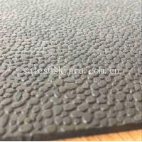 China Heavy Duty Orange Peel Rubber Mats Leather Pattern Rubber Floor Matting on sale