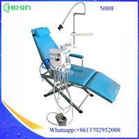 Buy cheap Portable folding patient dental chair sale, silla dental plegable with dental led lamp spittoon from wholesalers