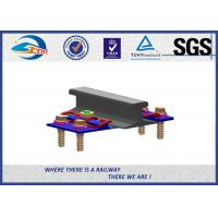 Quality Rubber Pad  / Elastic Clip And Base Plate Rail Fastening System SKL12 For Subway for sale