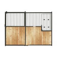 Wholesale Pre Built Metal Horse Stall Doors, Durable Equestrian Horse Barn Stall Fronts from china suppliers