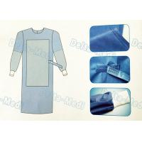 Wholesale Tie On Disposable Sterile Gowns , Disposable Operating Gowns Wood Pulp Spunlace Fabric from china suppliers