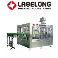Wholesale Small Capacity Carbonated Filling Machine , Glass Bottle Soda Filling Machine from china suppliers