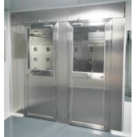 China Air Shower for Persons and materials with 4 doors controlled by PLC and touch screen on sale