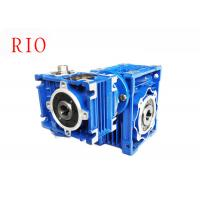 China Double Reduction Gearbox Nmrv030/050 , Worm Gear Speed Reducer Low Noise on sale