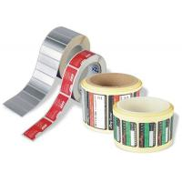 China Custom Waterproof Roll Sticker Labels Self - Adhesive Paper & Plastic Prints on sale