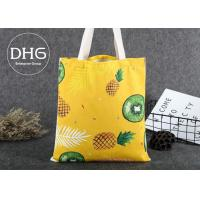 Wholesale Promotional Colored Screen Printed Canvas Bags Soft Damp Proof Brearhable from china suppliers