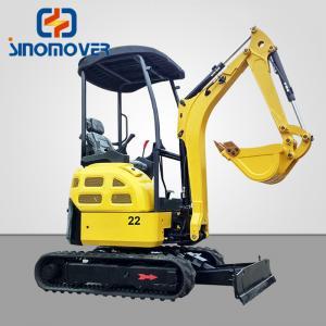 Wholesale 4.2T 0.11CBM Buckets XE35U Mini Hydraulic Crawler Excavator from china suppliers