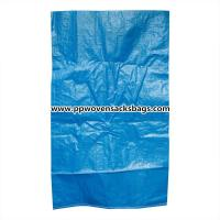 Wholesale Durable Blue PP Woven Bags for Packing Chemicals / Industrial Polypropylene Sacks from china suppliers