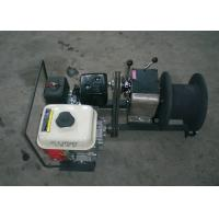 Buy cheap Pole Setting Gasoline Cable Drum Winch Lifting 1 Ton , Cable Puller Winch from Wholesalers