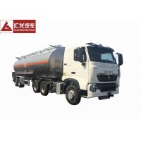 Wholesale T7H 2 Axle Aluminum Fuel Tank Semi Trailer With Intelligent Safety System from china suppliers