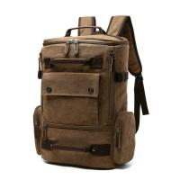 Buy cheap Men Compartment Retro College School Fashionable Laptop Bags from wholesalers