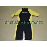 Buy cheap Short sleeve wetsuit of 2012 with super strechable neoprene from wholesalers