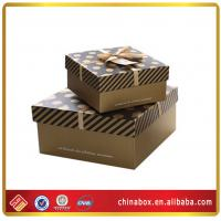 Wholesale designers christmas gift box decorative packaging with ribbons from china suppliers