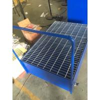Wholesale Galvanized Steel Pallet Spill Containment Drum Platform For Multi Drums Storing trolley from china suppliers