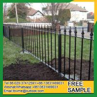 Wholesale Clearwater Palisade Fence NorthMiami wrought iron fencing from china suppliers