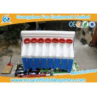 Wholesale Basketball Inflatable Sport Games , Inflatable Shooting Score 6mL*2.5mW*4mH from china suppliers
