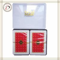 China NAP PLASTIC DOUBLE DECK PLAYING CARDS on sale