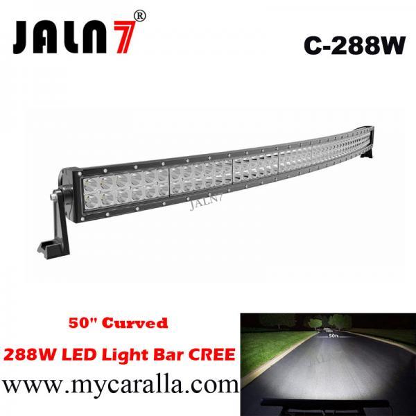 50 pulgadas 288w barra de luz led curvada 50 inch of item for Barra de luz led