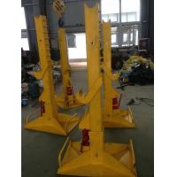 Wholesale 20T Electrical Cable Pulling Tools Adjustable Cable Drum Stand With Wheels from china suppliers
