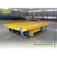 Wholesale heavy load manufacturing industrial turning rail transfer cart from china suppliers