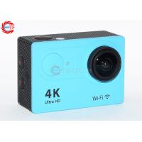 Wholesale 2.0 Inch LCD Blue 4k Sports Action Camera FHD Wide Angle With Water Proof Case from china suppliers