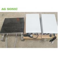 China Botton / Side Mounted Submersible Ultrasonic Transducer Remove Oil Pipe Cleaning on sale