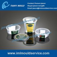thin-walled plastic containers mould with iml, thin-walled square box mold with iml