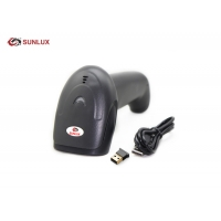 Wholesale Handiness Black ABS+PC Case 2D Sensor Wireless Barcode Scanner from china suppliers