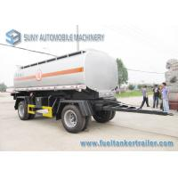 Wholesale Chemical Liquid International Tank Trailer Double Full Axle 15000L from china suppliers