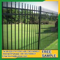 Wholesale St.Petersburg black fence Goodland black wrought iron fencing from china suppliers