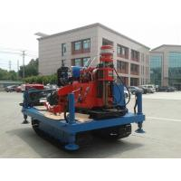 China GXY-2KL Spindle Rotary Crawler Drilling Rig Max Torque 2760 N.m , Mobile Drilling Rig on sale