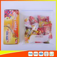 Wholesale Resealable Clear Ziplock Snack Bags For Food Packaging Eco Friendly from china suppliers