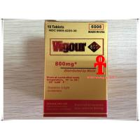 China Men Herbal Sex Pills , Golden Vigour 300mg / 800mg Long Time Sex Tablets on sale