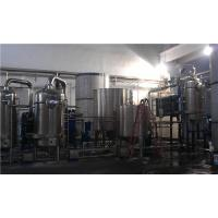 Wholesale Evaporator Falling Rising Film Multiple Effect Evaporation System For Herb Extraction from china suppliers