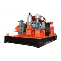 Wholesale Diesel Engine Driven Hoist Winch 10 Ton Capacity For Construction from china suppliers