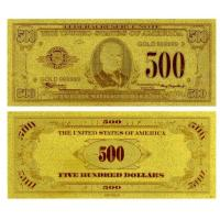 China United States 500 Dollar Bill Banknote Collection on sale