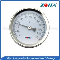 Wholesale Steel Miniature Bimetal Dial Thermometer With Spring Pipe Mount Customized Size from china suppliers