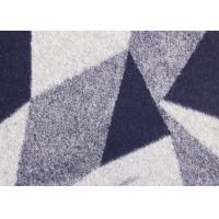 Buy cheap Triangle Style Double Sided Wool Fabric , Knit Apparel Fabric 148CM Width from Wholesalers