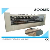 Wholesale 20mm Board Huge Slitter Scorer Machine , Slitting Creasing Thick Sheet Cutting Machine from china suppliers