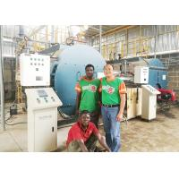 Horizontal Gas Oil Fuel Fired Boiler Steam Ouput Under Low Pressure