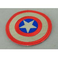 Wholesale Custom Embroidery Fabric Iron Monkey Look Patch for Garment Washable from china suppliers