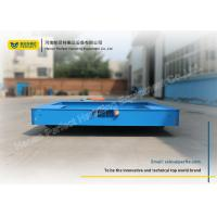 Quality Heavy Material Industrial Motorized Carts / Battery Transfer Cart Emergency Stop Buttons for sale