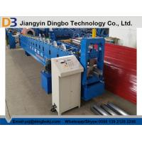 PLC Control PPGI Steel Sheet Rain Gutter Roll Forming Machine With 0.3-0.8mm Thickness