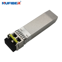 Wholesale 10km 10gbe Sfp+ Transceiver Module Single Mode Duplex LC Connector from china suppliers
