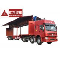 Wholesale Drop Deck Wingspan Trailer  Curtain Side Trailer High Loading and Unloading Efficiency from china suppliers